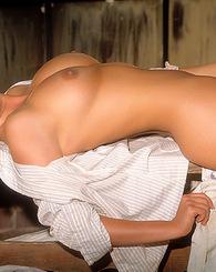 Tailor James gets naked