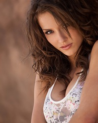 Malena Morgan is a stunning brunette with supermodel looks